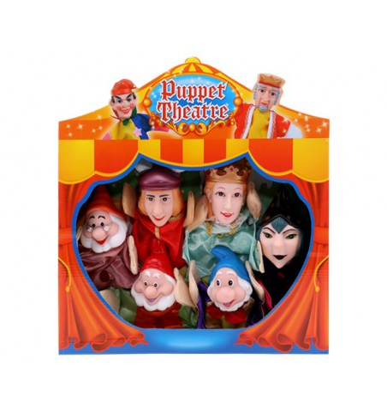 Marionetas 6 personajes Blancanieves