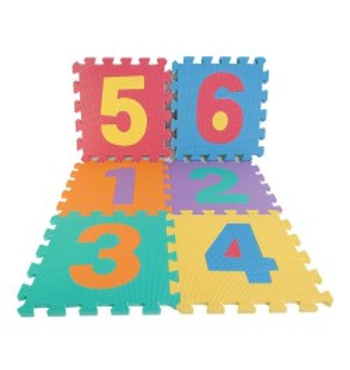 Puzzle Goma Eva 10 Números