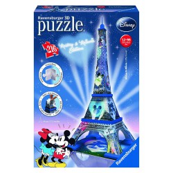 Puzzle 3D Mickey Torre...