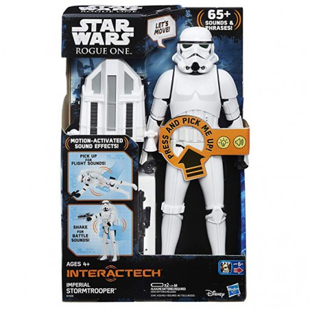 Star Wars Rogue One Stormtrooper imperial interactivo