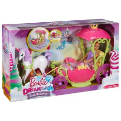 Barbie Dreamtopia Carroza
