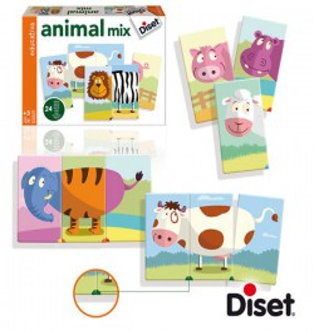 Juego Educativo Animal Mix...