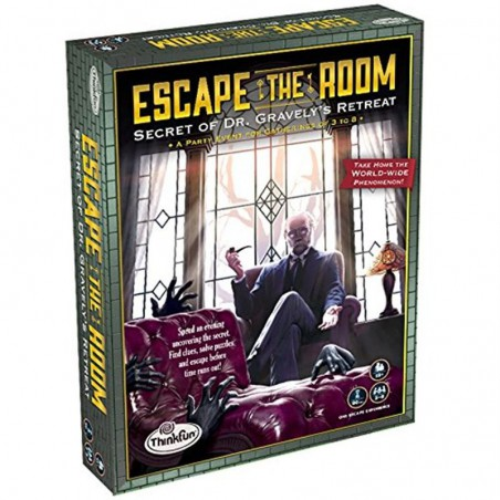 Juego Escape the Room El secreto del Dr. Gravely