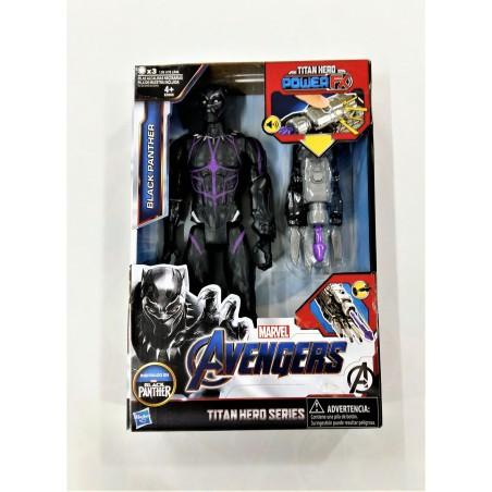Black Panther figura Titan Hero Power FX