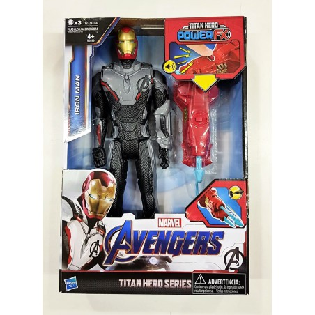 Avengers Endgame Iron Man figura Titan Power FX