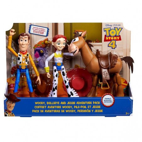 Toy Story 4 pack aventuras de Woody