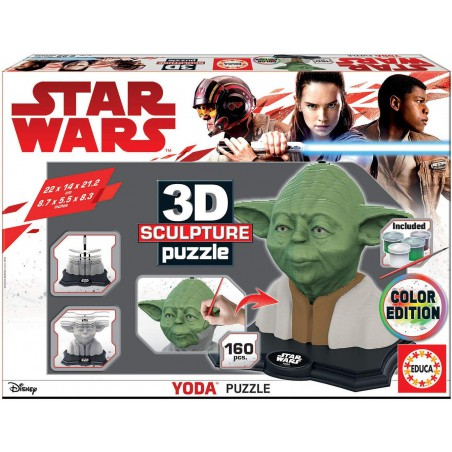Puzzle 3D Yoda Star Wars