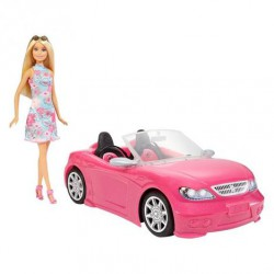 Coche Descapotable Barbie
