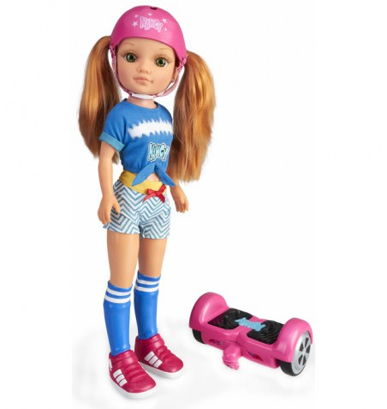 Nancy Un día en con Mi Hoverboard