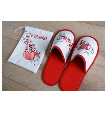 Zapatillas san valentín