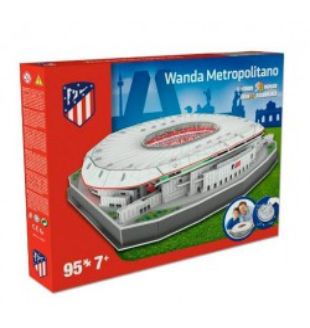 Wanda Metropolitano puzzle 3D
