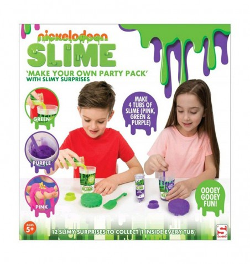 Crea Tu Propio Slime Party Pack