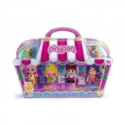 PinyPon City pack de 4 figuras