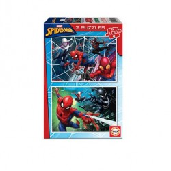 Puzzle Spiderman 2 x 100