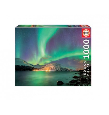 Puzzle 1000 Aurora Boreal