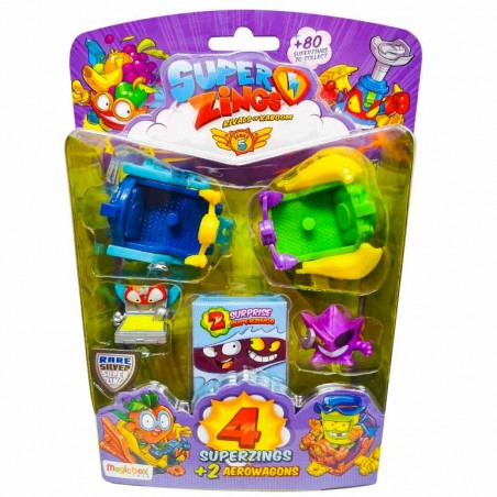 SuperZings S5 6 figuras Flying Surfers