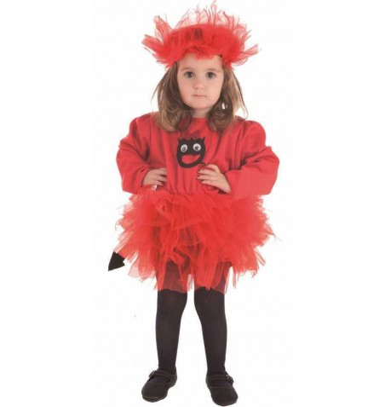 Disfraz infantil diablilla