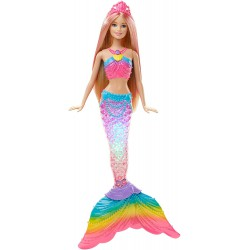 Barbie Sirena Luces de...