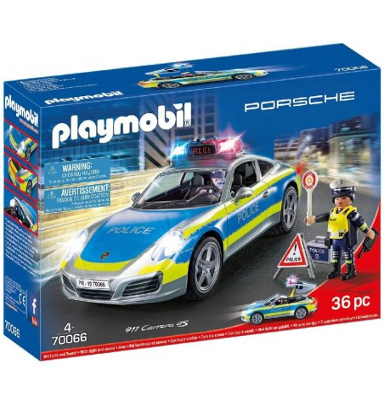 Coche Porche Policía - Playmobil