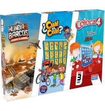 Pack Juegos Coloca 4 +...