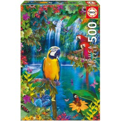 Puzzle 500 pc Paraiso Tropical