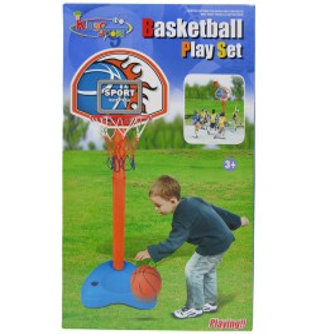 Canasta baloncesto para niños