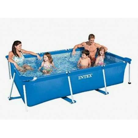 Piscina tubular Intex 220 x 150 x 60 cm