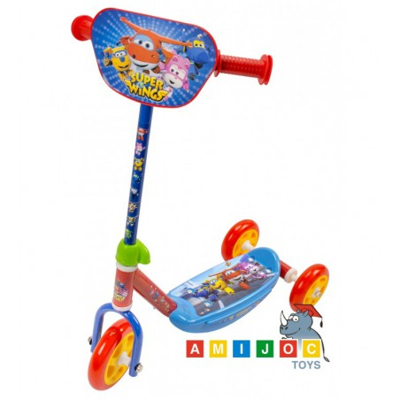 Patinete 3 ruedas Super Wings