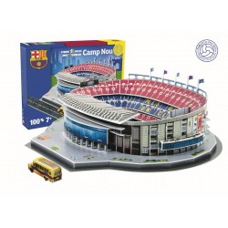 Puzzle 3D estadio  Camp Nou