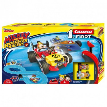Pista Carrera First Mickey Roadster Racers
