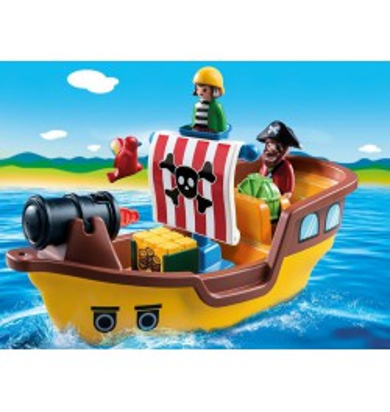 Playmobil 123 Barco Pirata