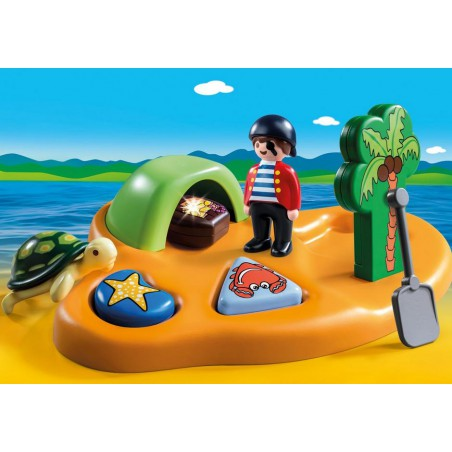 Playmobil 123 Isla pirata