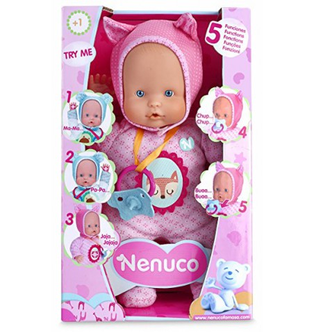 Nenuco 5 funciones rosa