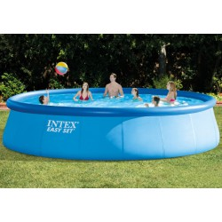 Piscina Intex aro hinchable...